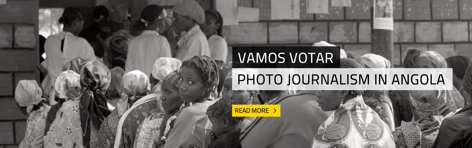 Vamos Votar-Construction of the Angolan democracy in photos